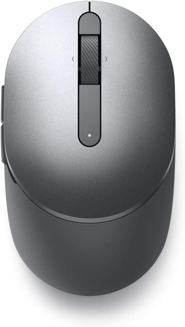 Dell MS5120W Wireless Computer Mouse - with Bluetooth Connection with Long Life Battery (Titan Gray)