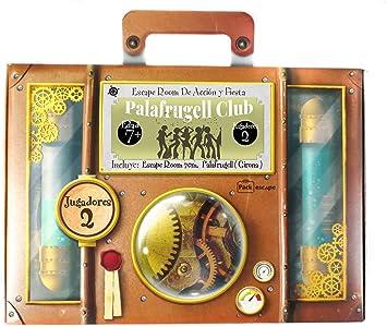 Regala Escape Room. Un Regalo Original, Diferente y Divertido. Una Experiencia inolvidable. Personaliza Tu Regalo Escogiendo Ciudad (Palafrugell, Girona) : Amazon.es: Juguetes y juegos