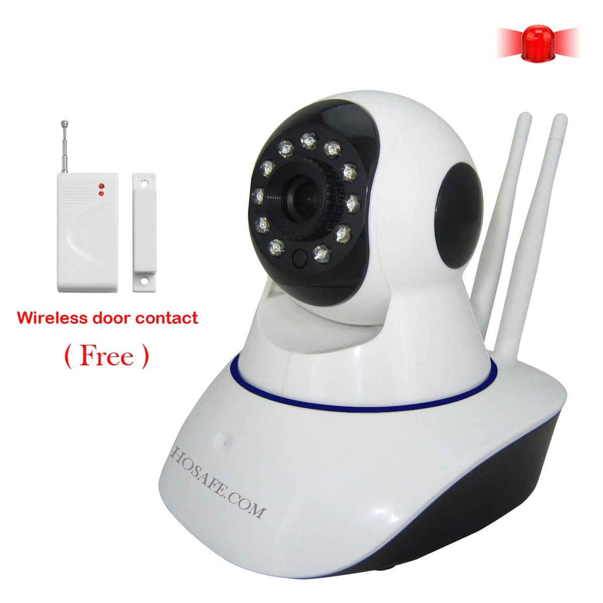Amazon.com : HOSAFE 1MW9 Smart Home Security System W/ Door/Window ...