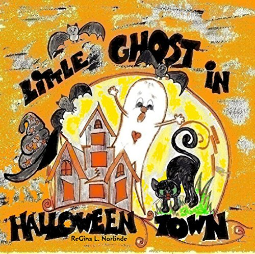 Children's Book:: Little Ghost in Halloween Town (Adventures of Little Boo Book -