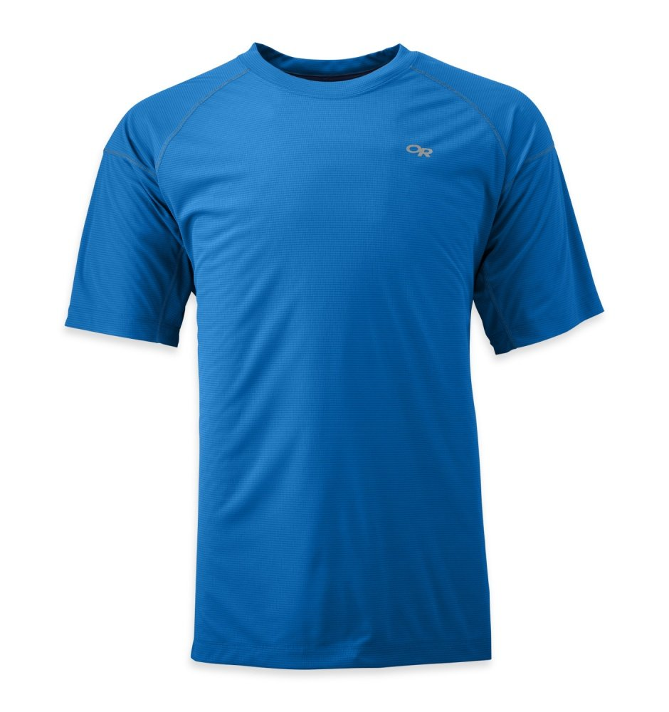 Outdoor Research Men's Echo Tee, Glacier/Night, Large