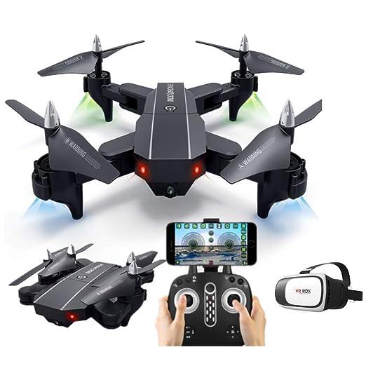ERKEJI Drone Control de Gravedad Control Remoto Plegable de Cuatro ...