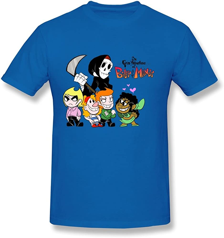 WunoD Men's The Grim Adventures of Billy and Mandy T-Shirt