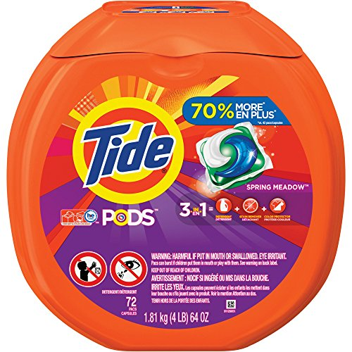 PGC50978 - Tide Pods, Spring Meadow, 72 Per Pack, 4 per Case by Procter And Gamble