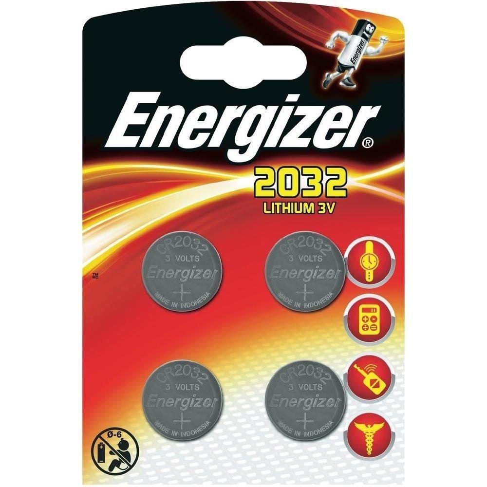 Energizer al litio CR2032–(Confezione da 4) Energizer Batteries EnerCR2032-C4