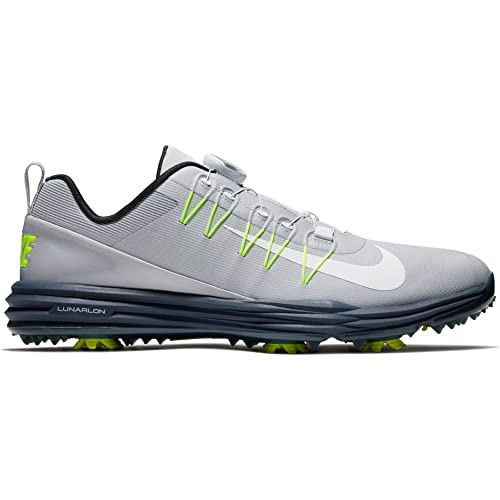 the best attitude 7aa93 cfaec Nike Lunar Command 2 BOA Golf Shoes 2017 Wolf GrayWhiteThunder Blue