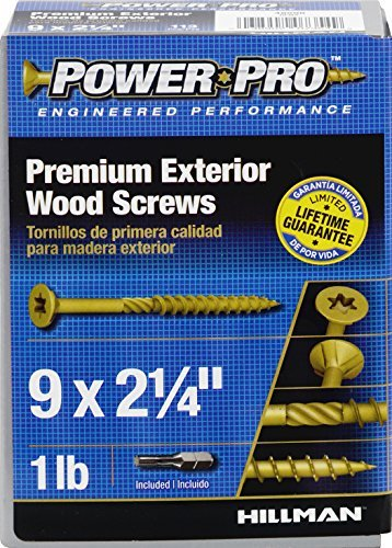 Deck Screw #9x2-1/4''