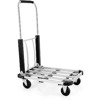 Amazon Com Lovshare 330lb Utility Cart Folding Platform