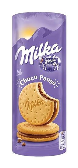 Milka - Galleta-Sandwich Rellenas, Pack de 9 x 260 g (2340 g
