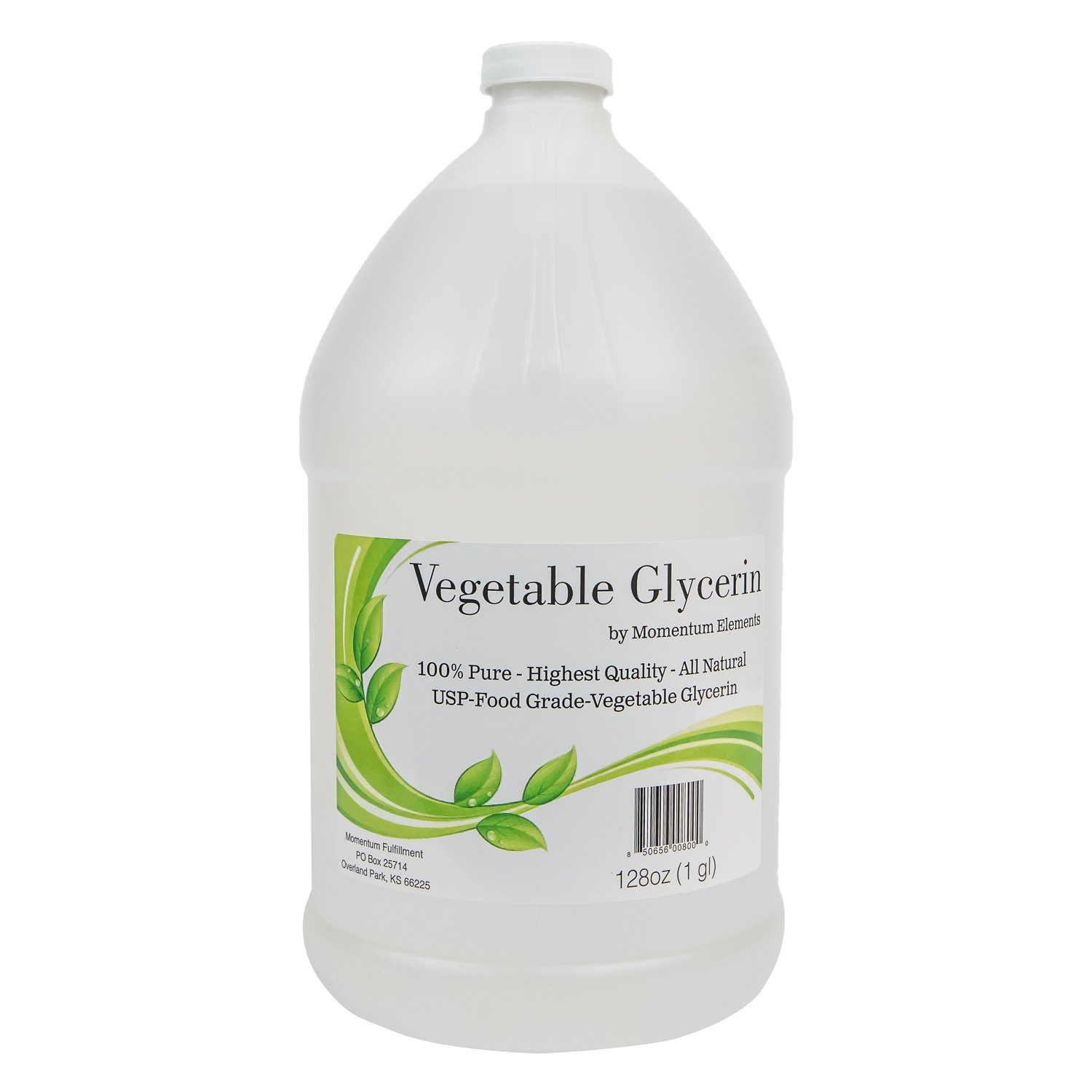 Vegetable Glycerin 99.8% Pure USP - 1 Gallon (128 oz) Kosher Food Grade All Natural Premium Quality Non GMO and Made in the USA