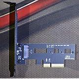 Up to 3300M/s PCI-E 4X for M.2 SSD ADAPTER XP941 SM951 950Pro Cooling version