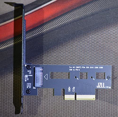 Up to 3300M//s PCI-E 4X for M.2 SSD ADAPTER SM961 SM951 950Pro Radiator version
