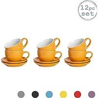 Argon Tableware 12 Piezas de Color Cappuccino