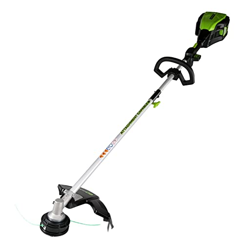 Greenworks PRO 16-Inch 80V Cordless String Trimmer Attachment Capable