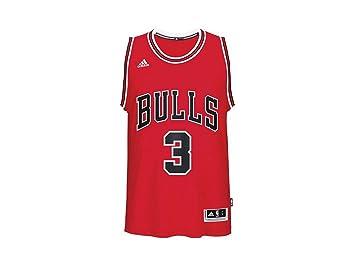 adidas Cc2542 Camiseta Chicago Bulls de Baloncesto, Hombre, Negro, 2XS: Amazon.es: Deportes y aire libre