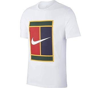Nike M Nkct tee Heritage Logo T-Shirt de Tenis, Hombre: Amazon.es: Deportes y aire libre