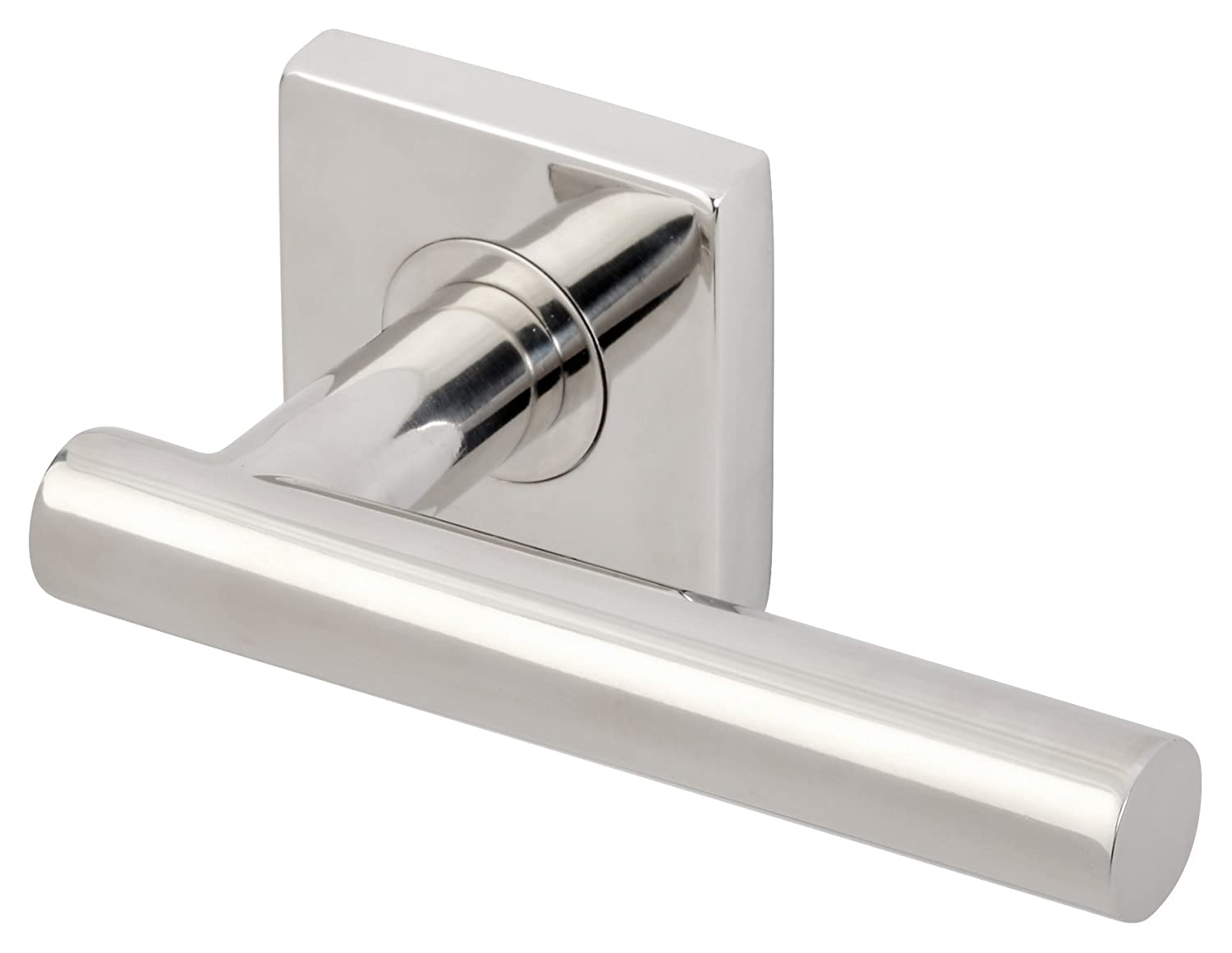 INOX SE106DR-32 SE Rosette Right-Hand Half Dummy with Copenhagen Lever Polished Stainless Steel