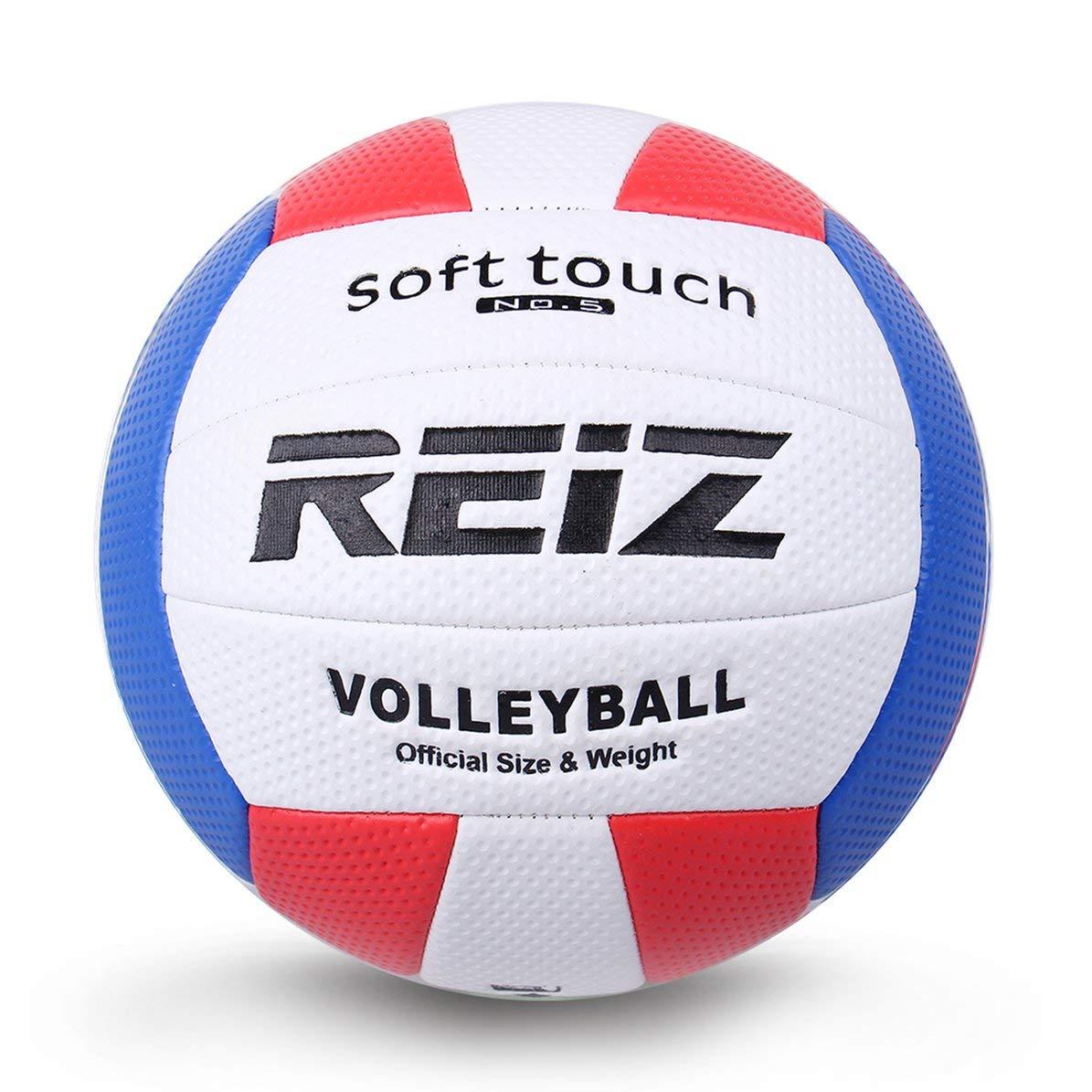 Sunnyflowk Soft Touch PU Leather 5# Balón de Voleibol Competencia ...