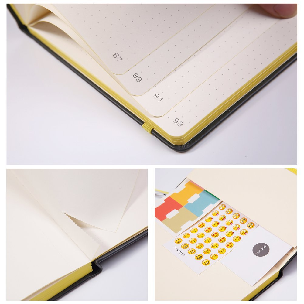 Bullet Journal with Dot-Grid Papers - Check Price at Amazon