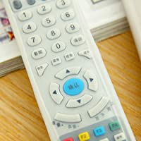 TV Remote Control Set Waterproof Dust Silicone Protective Cover Case Stylish