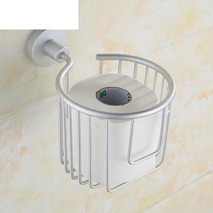 cesta porta/caja de papel higiénico/toallas sanitarias cartón/sostenedor de papel/