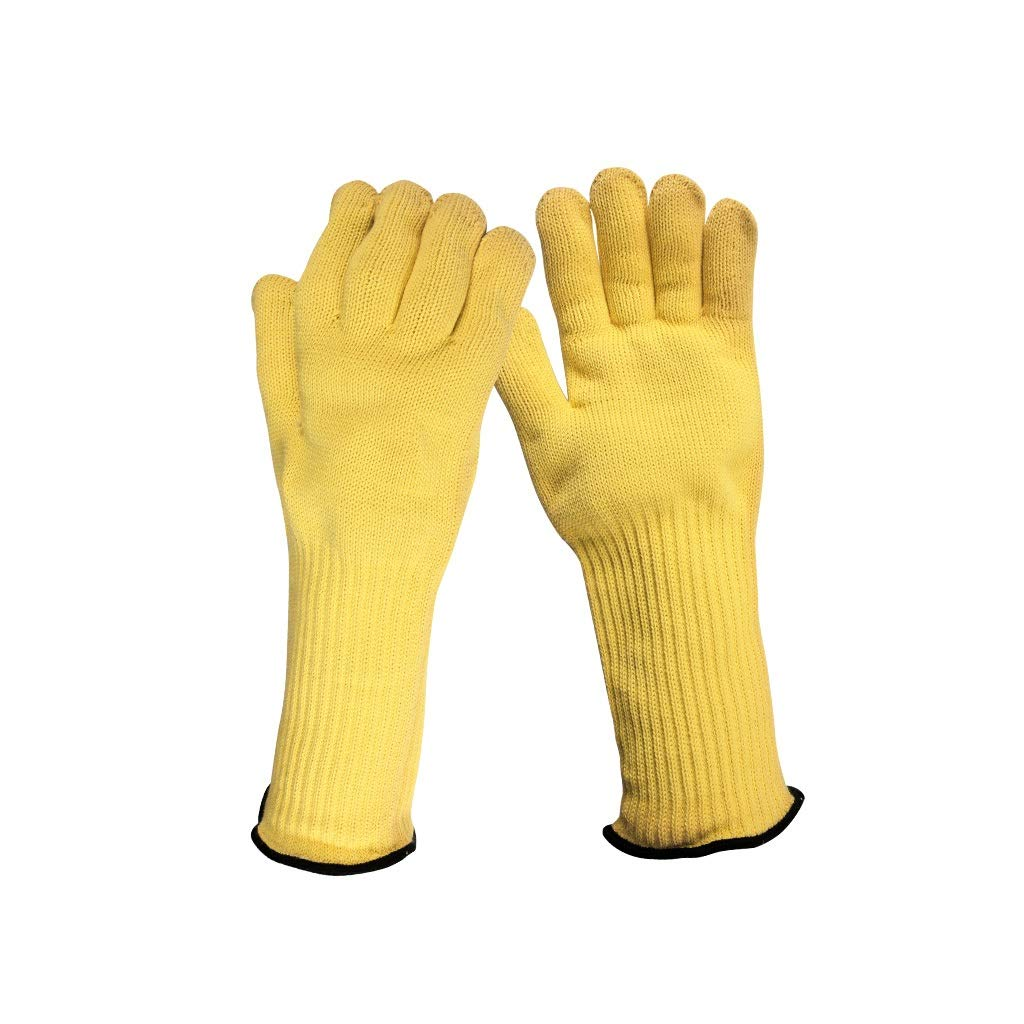 YYTLST High Temperature Resistant Gloves, 350 Degree Heat Insulation, Extended Comfort, Suitable for Industrial Welding Machinery Work by YYTLST