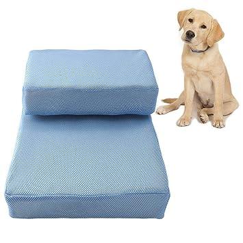 Bloomma 2 Niveles de Malla Transpirable Espuma Pasos para Mascotas Polera Multiusos para Perros y Gatos/escaleras para Mascotas: Amazon.es: Hogar