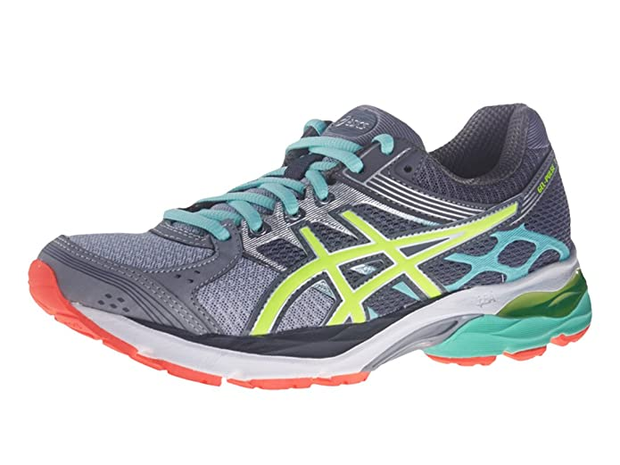 ASICS Women's Gel-Pulse 7, Silver/Flash Yellow/Mint, 6