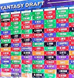 2018 Fantasy Football Draft Board Over 400 Player Labels Draft Kit alphabetized Position
