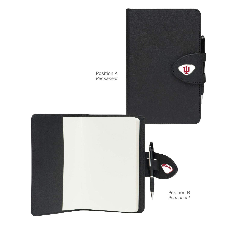 One Size AdSpec NCAA Indiana Hoosiers Collegiate Classic NotebookCollegiate Classic Notebook Black