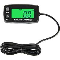 Runleader HM032R tacómetro inductivo con pantalla retroiluminada contador