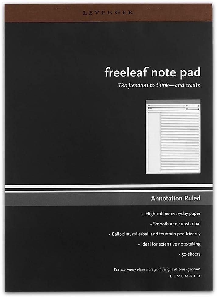 Levenger Freeleaf Annotation Ruled Pads ADS5580 LTR Letter 5