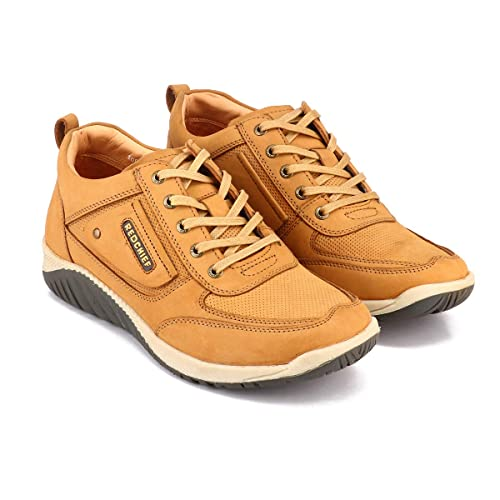 Buy Red Chief Rust Leather Casual Shoes