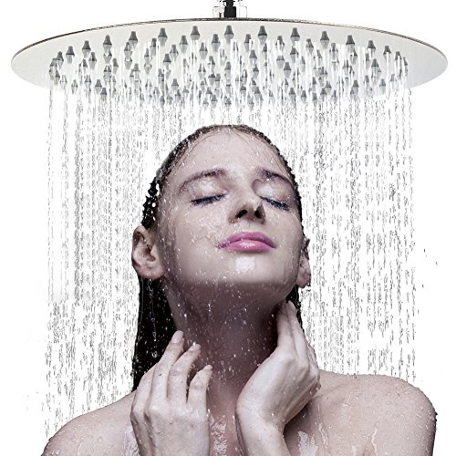 Large Rainfall Shower Head, Voolan 12