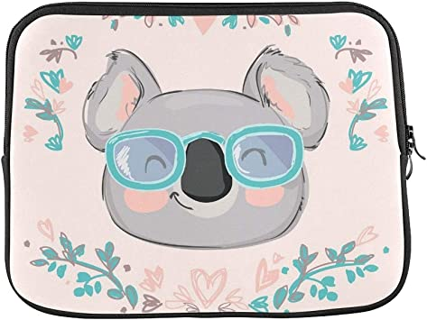 Koala Bear Australia Pattern Neoprene Sleeve Pouch Case Bag for 11.6 Inch Laptop Computer Designed to Fit Any Laptop//Notebook//ultrabook//MacBook with Display Size 11.6 Inches
