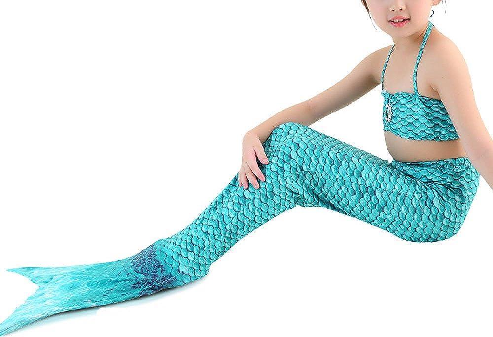 Costume Da Bagno Sirena : Nuovo sirena pinne bikini costume da bagno con coda di sirena da