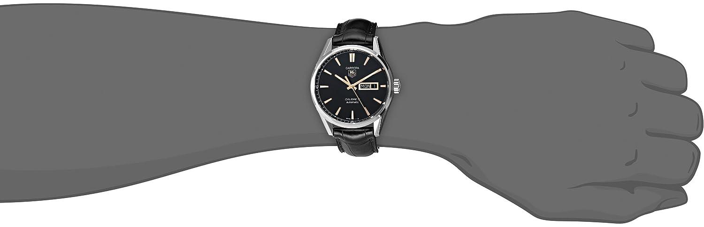 TAG Heuer Men s WAR201C.FC6266 Carrera Analog Display Analog Black Watch