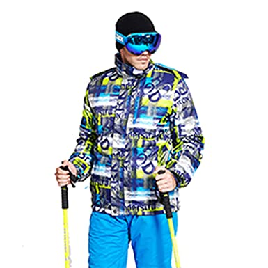 Amazon.com: Chaquetas de esquí para hombre, impermeables ...