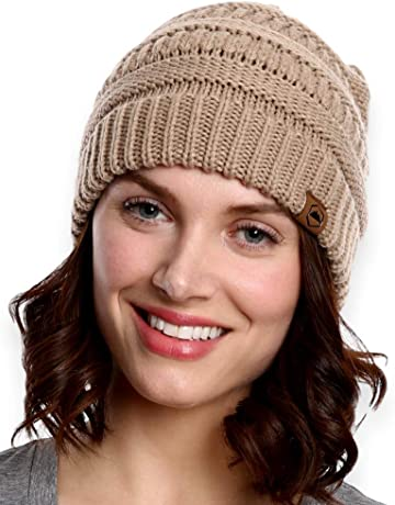 d74525cb4bf75 Tough Headwear Cable Knit Beanie - Thick