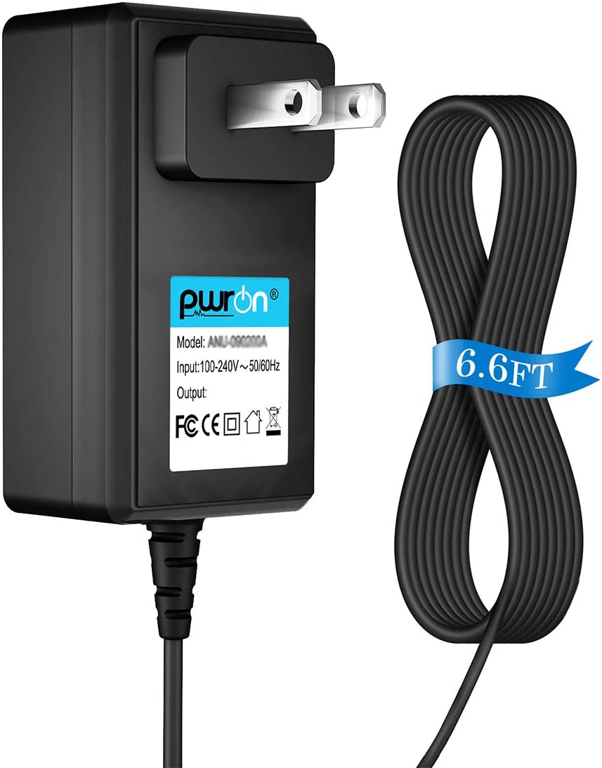 PwrON (6.6FT Cable) AC Adapter for Hoover Quest 700 BH70700 Robot Vacuum Cleaner Power Supply Mains