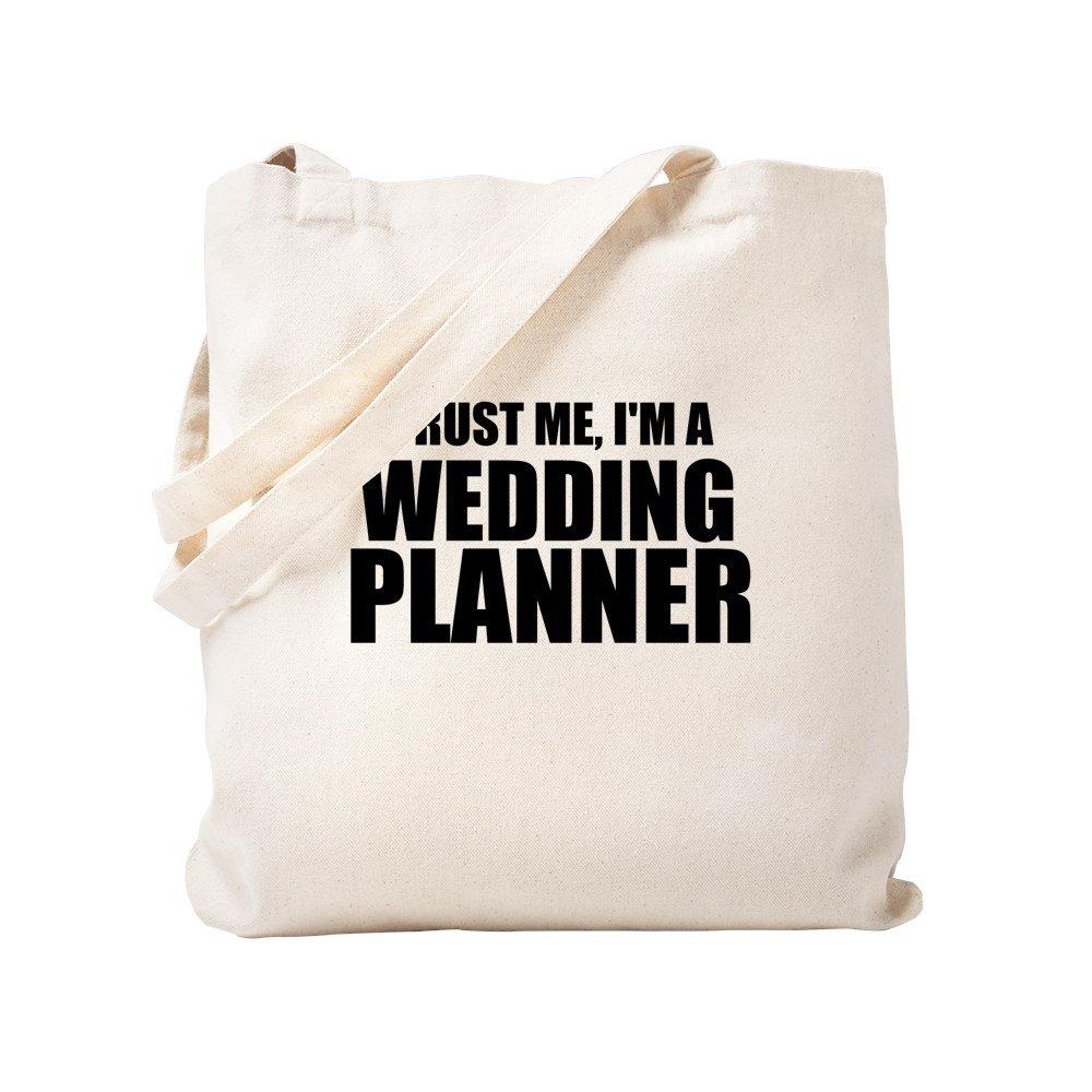 CafePress – Trust Me , I ' m a Wedding Planner – ナチュラルキャンバストートバッグ、布ショッピングバッグ S ベージュ 1642779921DECC2 B0773VP567 S