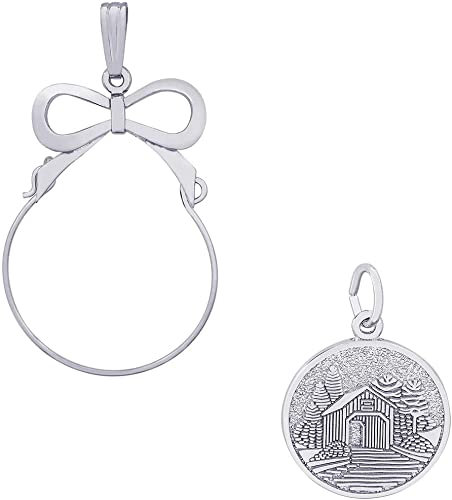 Rembrandt Charms Covered Bridge Charm