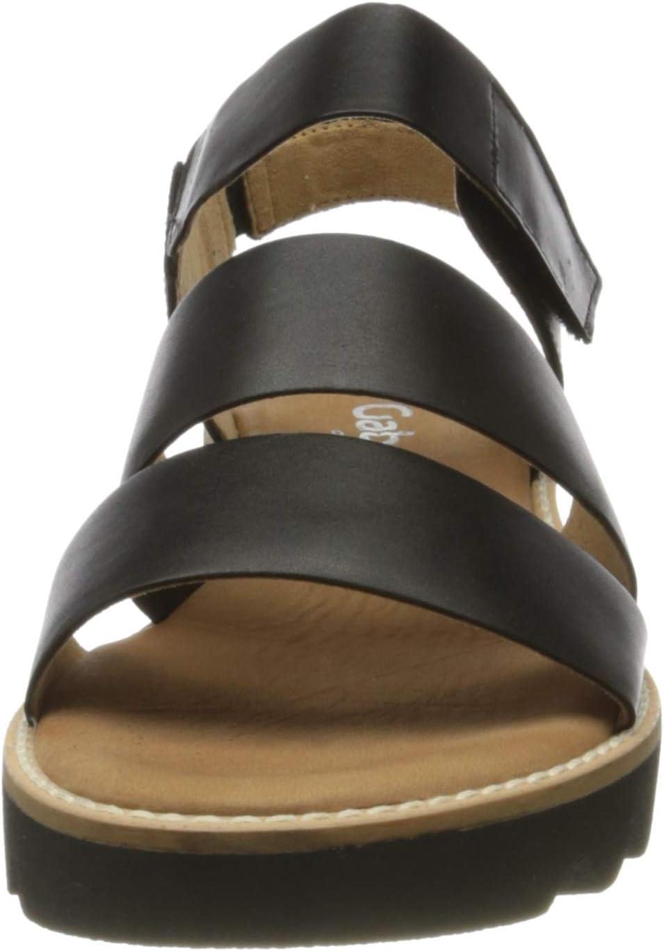 Gabor Comfort Sport Sandalen voor dames Zwart Zwart Zwart 57
