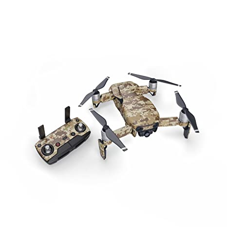 fee92b889ea Amazon.com: Coyote Camo 51 Piece Decal Kit for DJI Mavic Air Drone - Includes  Drone Skin, Controller Skin and 3 Battery Skin: Toys & Games