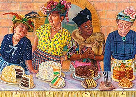 Gibsons And The Winner is... Susan Brabau 1000 Piece Jigsaw Puzzle (And The Winner Is Jigsaw Puzzle)