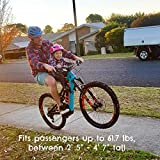 DO LITTLE Front-Mounted Kids Bike Seat for Active