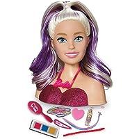 Boneca Barbie Busto - maquiagem e cabelo - Pupee 1265