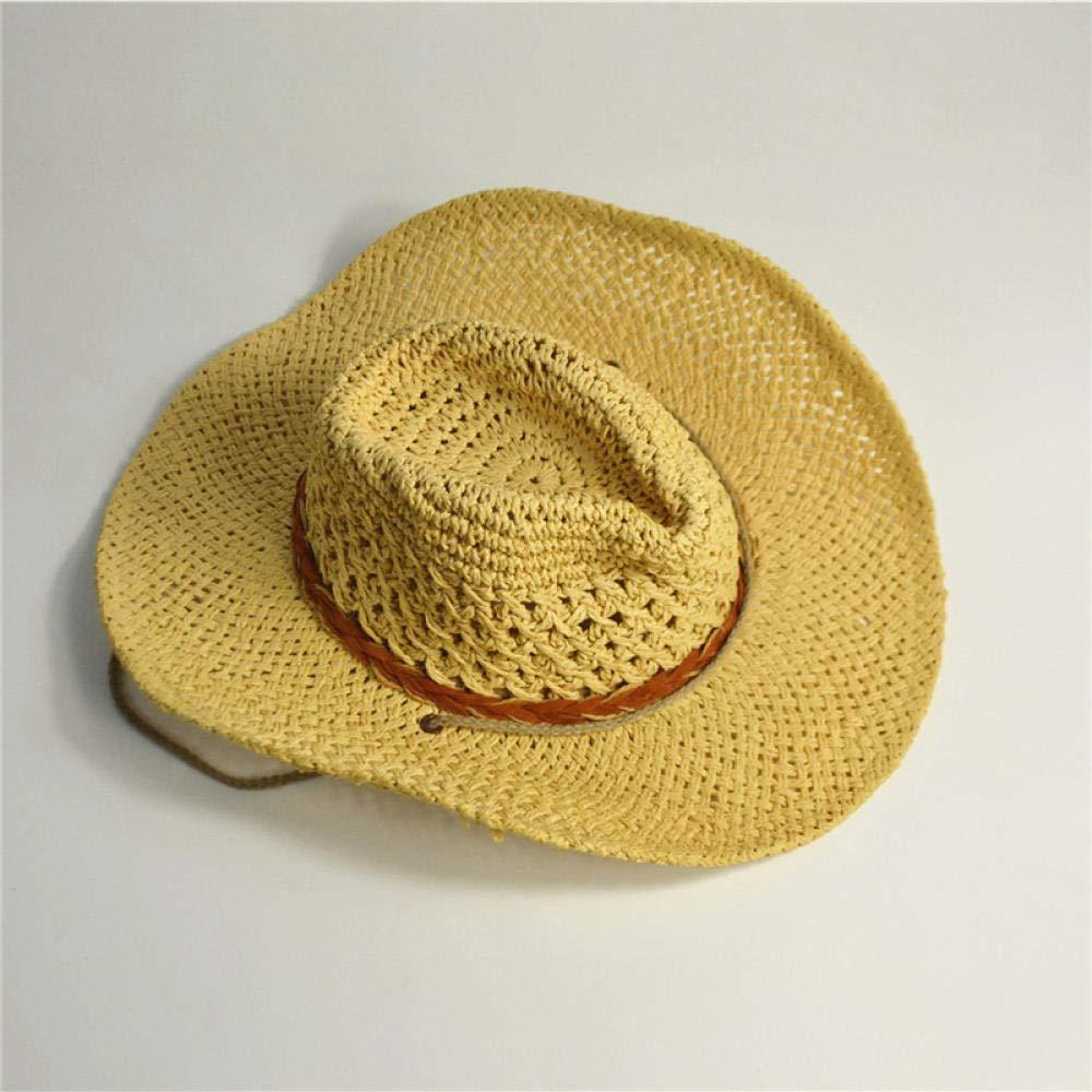 IFMASNN Chapeau de Soleil en Paille Panama Chapeau de Paille Chapeau d/ét/é