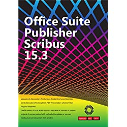 Office Suite Publisher Scribus 15.3 Magazine & Newsletters Productions Books Brochures Business Cards Barcode & Packing Grids PDF Presentation w/Extra Filters Plugins Templates [PC/Mac/Linux]⭐️⭐️⭐️⭐️⭐