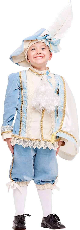 Costume di Carnevale da Principe Azzurro Prestige Baby Vestito per Bambino Ragazzo 1-6 Anni Travestimento Veneziano Halloween Cosplay Festa Party 50869 Taglia 6